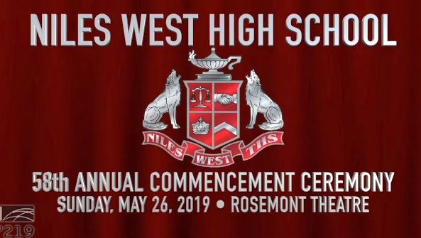 Cover slide for Niles West Commencement